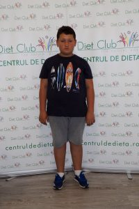 Edi are 12 ani și a reușit să slăbească 19 kg